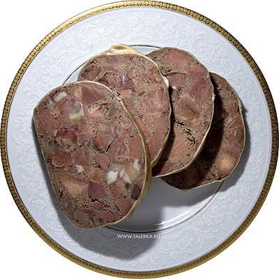 Источник.  Версия для печати.  2 толстых свиных кишки; 2 свиных ножки; 1 сердце; 1 язык; 400