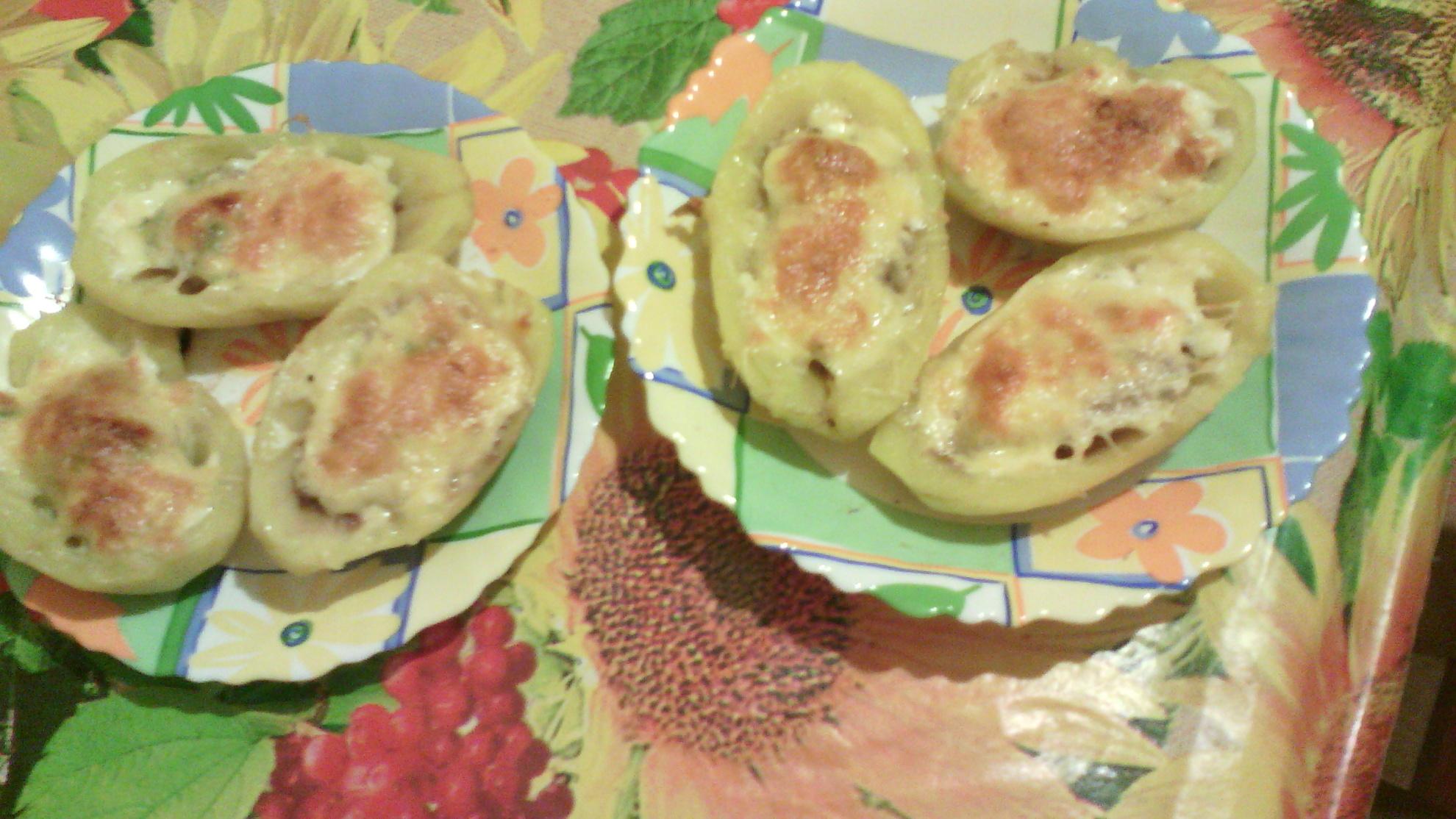 Картофельные лодочки фото рецепт пошаговый