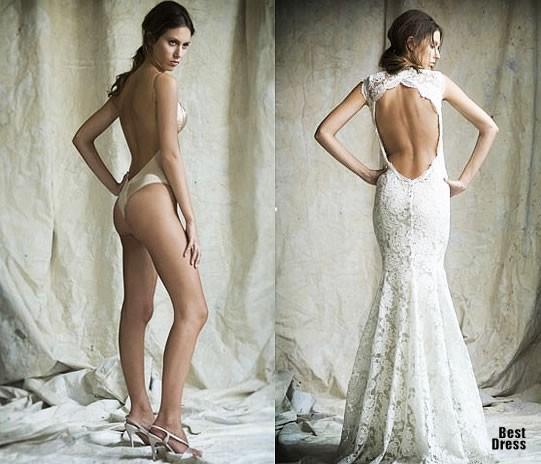 Цепочка для платья с открытой спиной