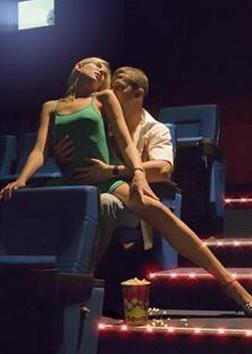 Реальный секс в кинотеатре