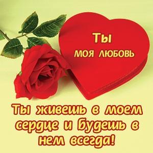 картинка ты любовь моя