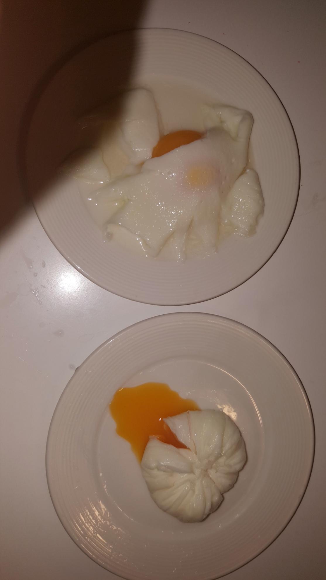 Пашот яйцо в пленке рецепт пошагово