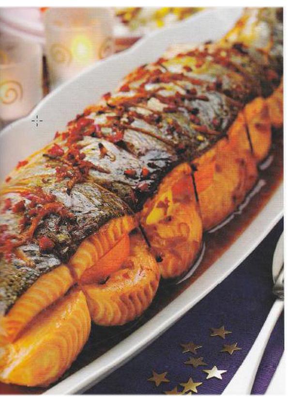 лосось духовке целиком рецепты фото