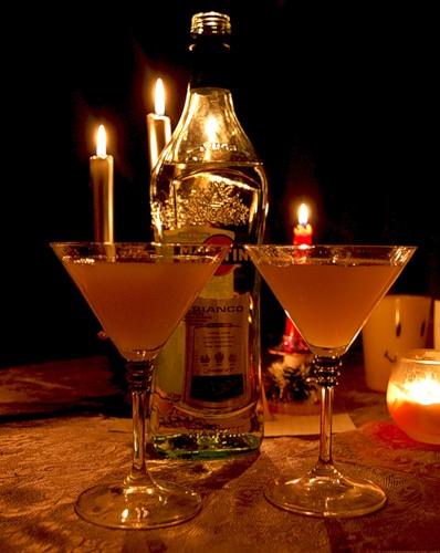 фото ужин при свечах