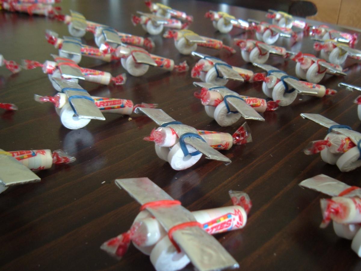 Поделки конфета для детей