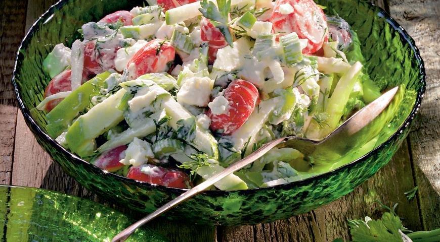 Летние салатики с фото