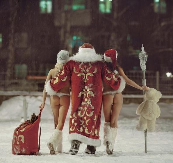 Сексуальный смешнойдед мороз фото 15 фотография
