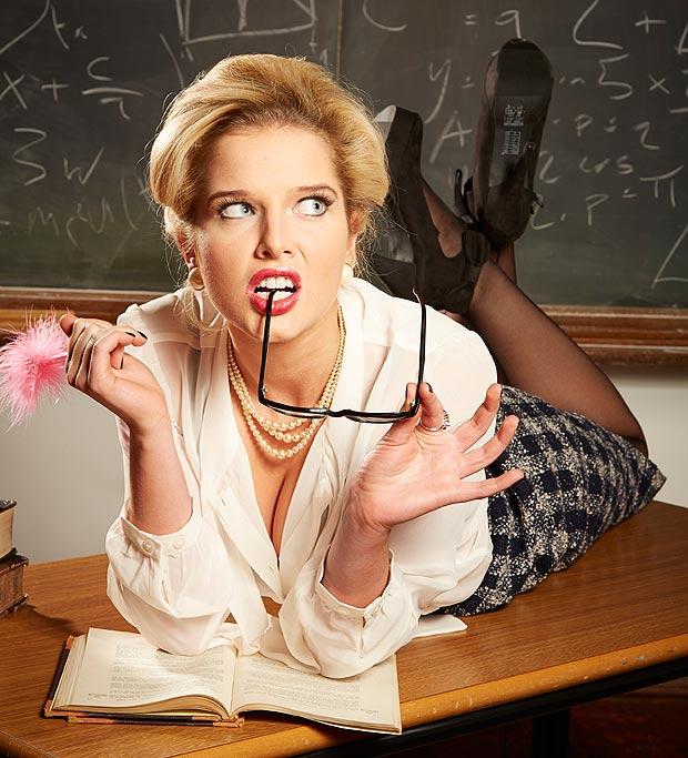 сексуальные строгие учителя фото