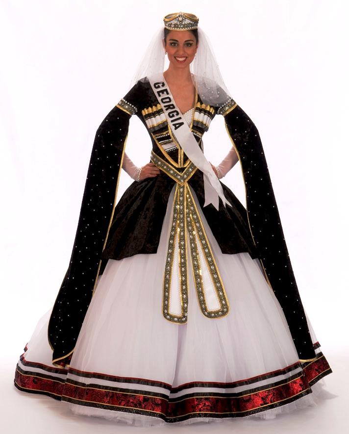 Грузинское Женское Платье