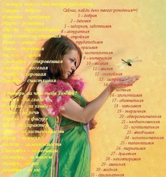 Поздравление с днем рождения себя любимую стихи 7