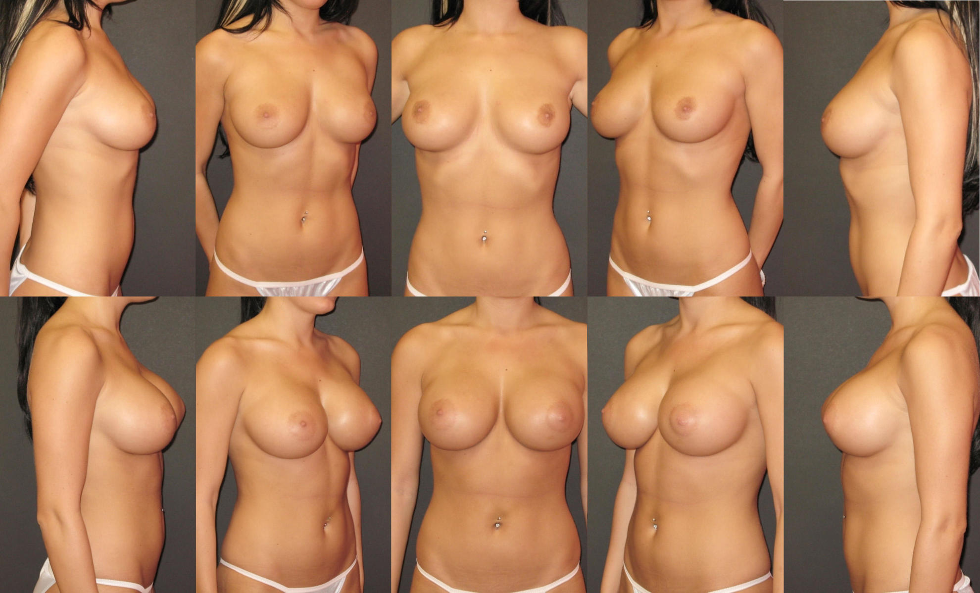 Разная голая женская грудь