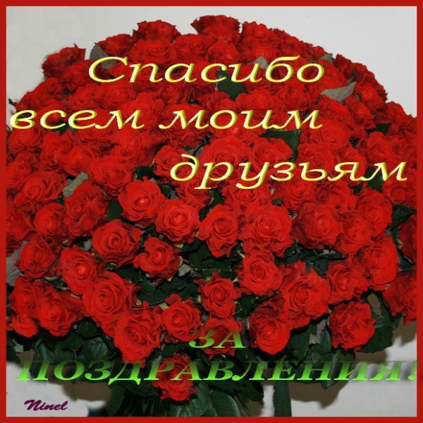 Сказать красиво спасибо за поздравления с днем рождения