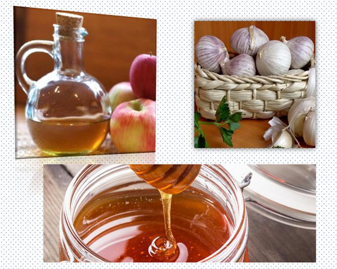 Мед и яблочный уксус рецепт приготовления