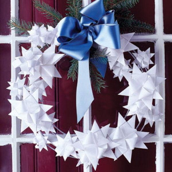 Необычные украшения из бумаги на новый год своими руками