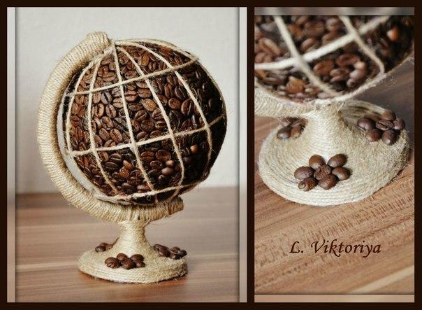 Часы из кофейных зерен своими руками пошагово - Videoshema
