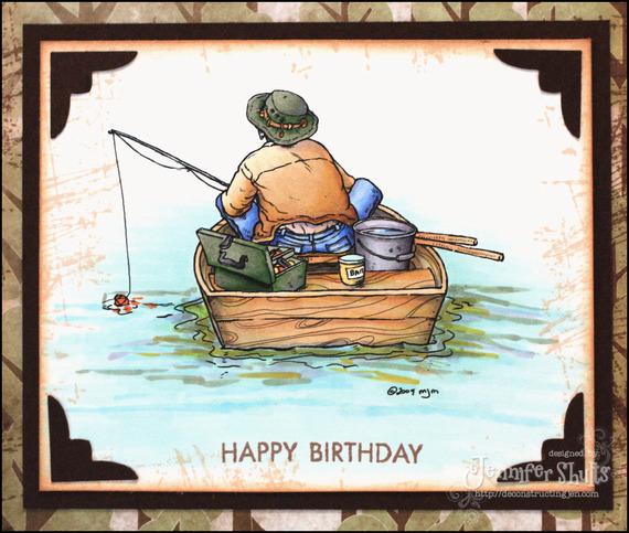 с днем рождения рыболову
