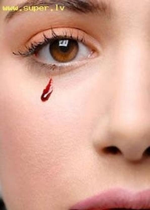 Как сделать так чтобы текли слезы