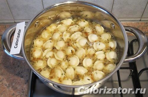 Как сделать бульон из пельменей
