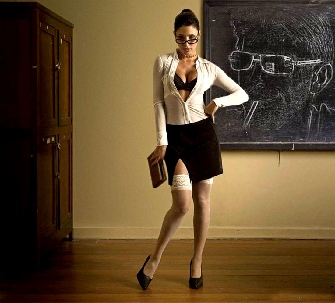 Секси учительница фото @ m1bar.com