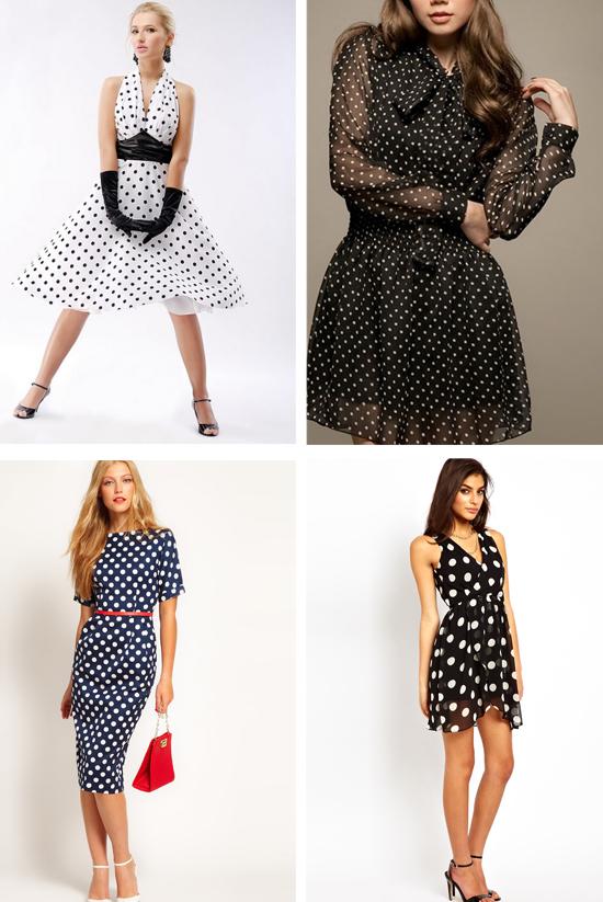 Модные Платья Горох