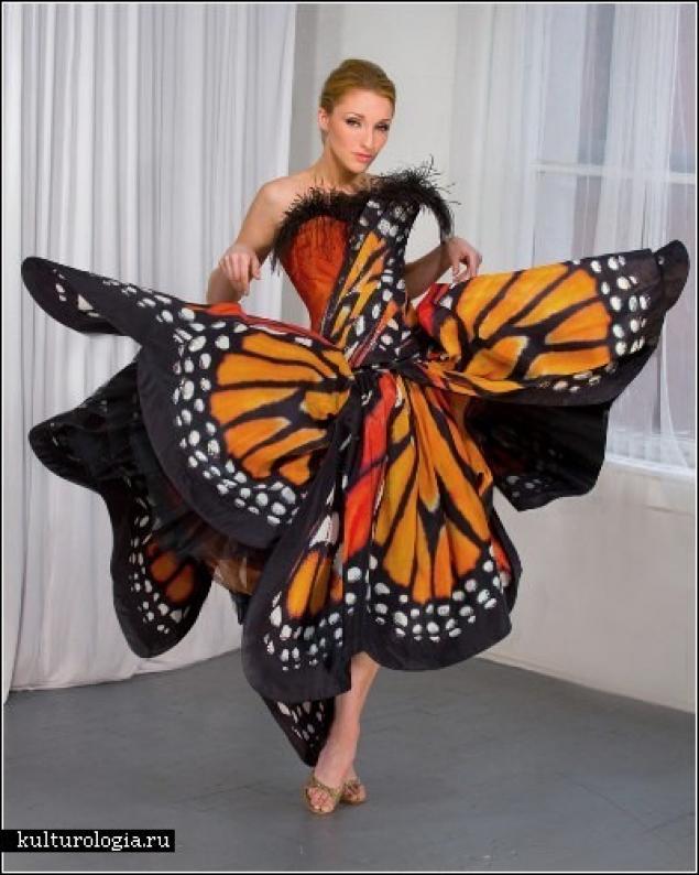 Бабочки на костюм фото своими руками