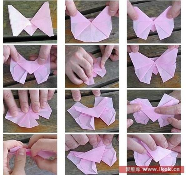 Бабочка оригами своими руками фото