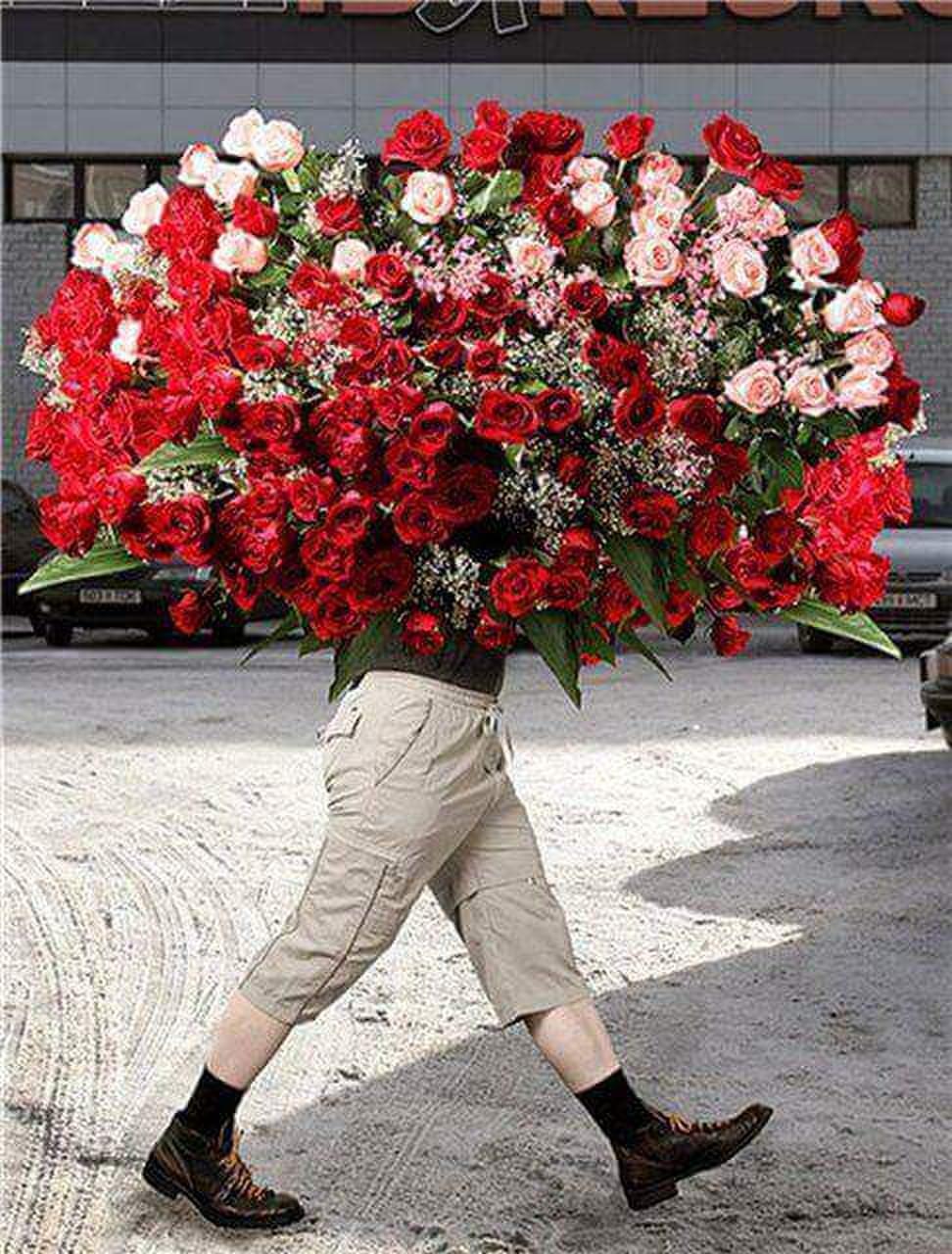 Хач с цветами фото и