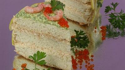 рыбный торт рецепт с фото из семги хлеб тостовый