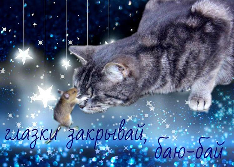 Картинки с пожеланием доброго вечера и спокойной ночи зимние