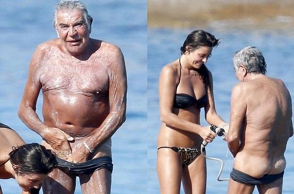 старик с молодой любовницей фото фестиваля аплодисментами