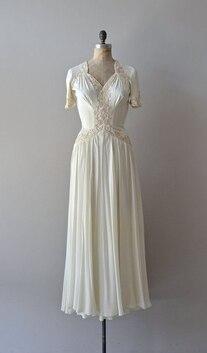 aeb09c7d91f Свадебные платья 1940-х годов
