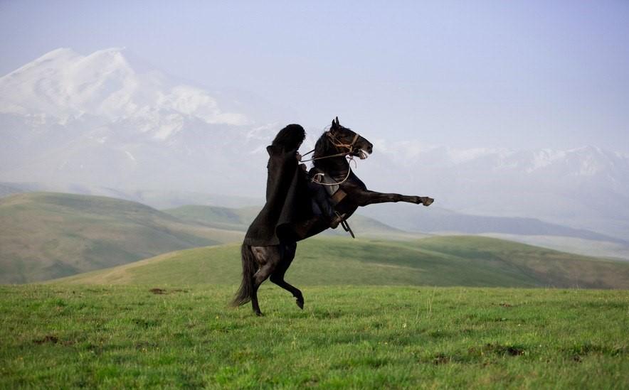 картинки джигит на коне маникюр