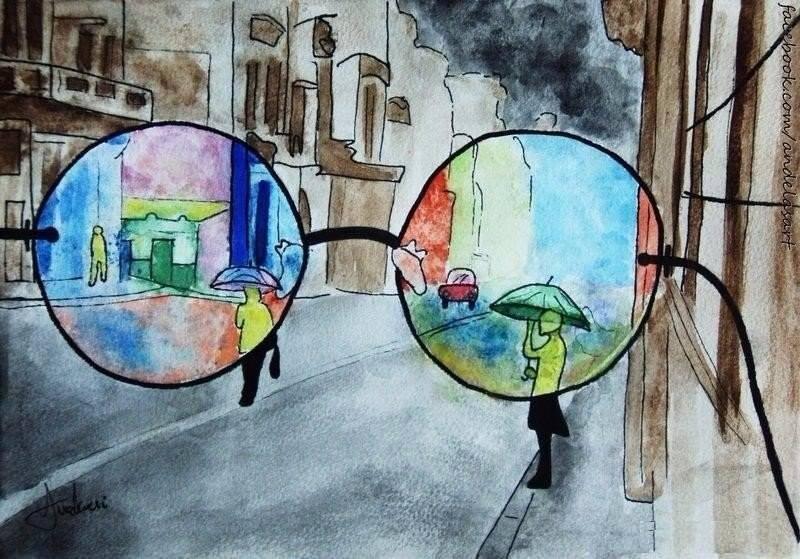 Рисунок мир без людей
