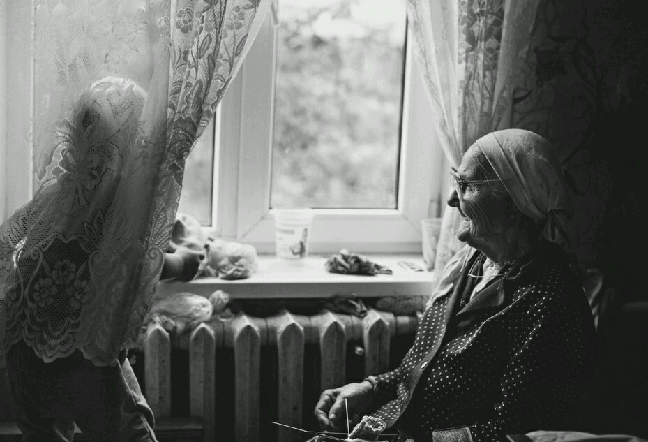 Картинки матерей у окна