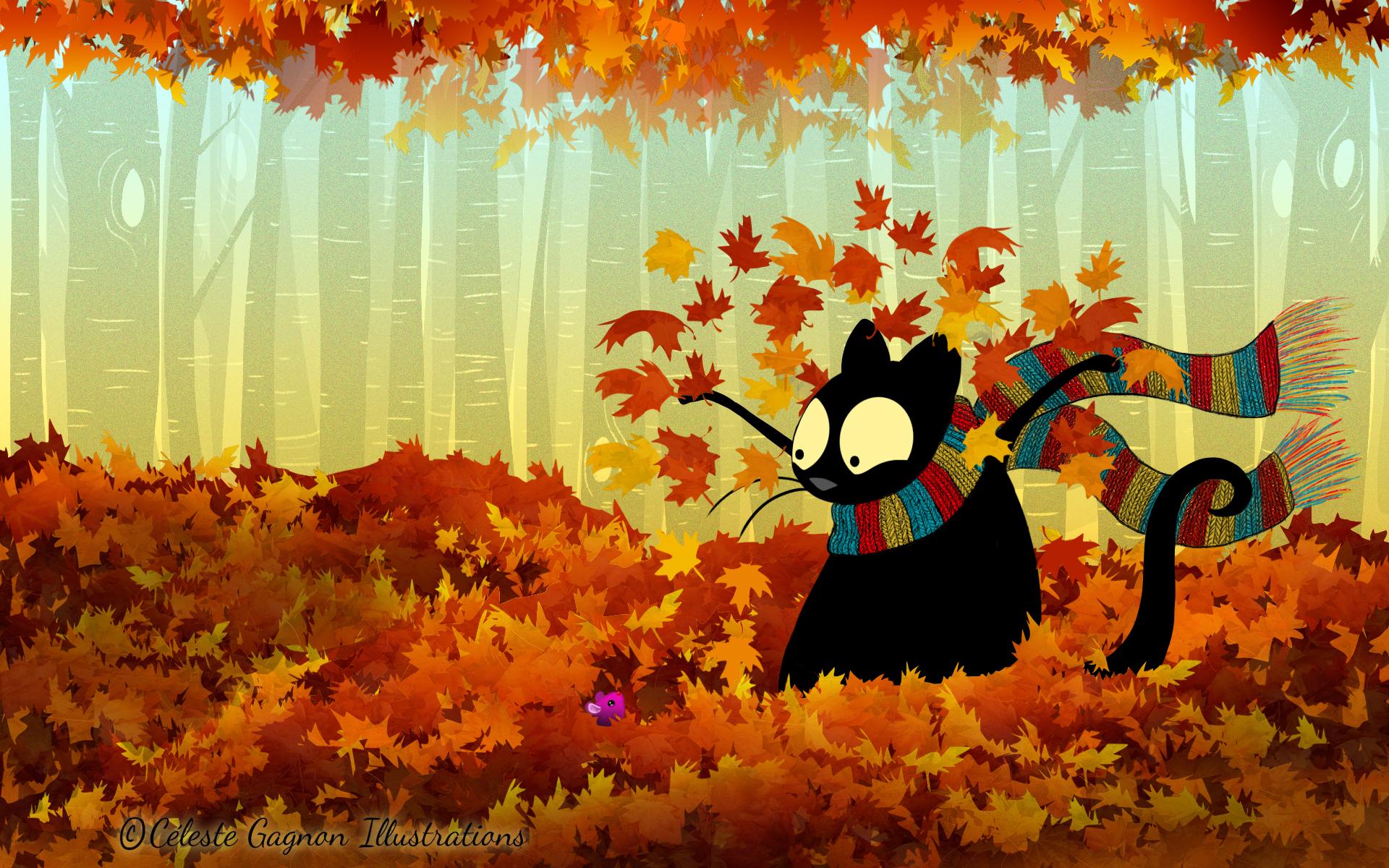 Картинки на рабочий стол приколы осень, аниме картинки картинки