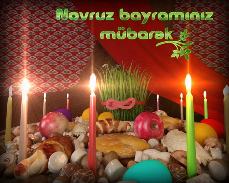Открытки с праздником новруз байрам на азербайджанском