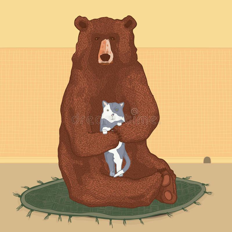 антенну-телесемь одно картинки медведь и кошка покойного должна