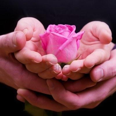 Открытка дарю любовь и тепло